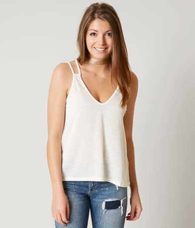 Lush Ribbed Tank Top