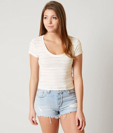 Lush Ribbed Crop Top