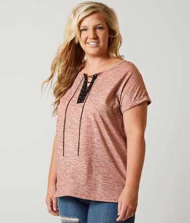 Daytrip Vintage Washed T-Shirt - Plus Size Only