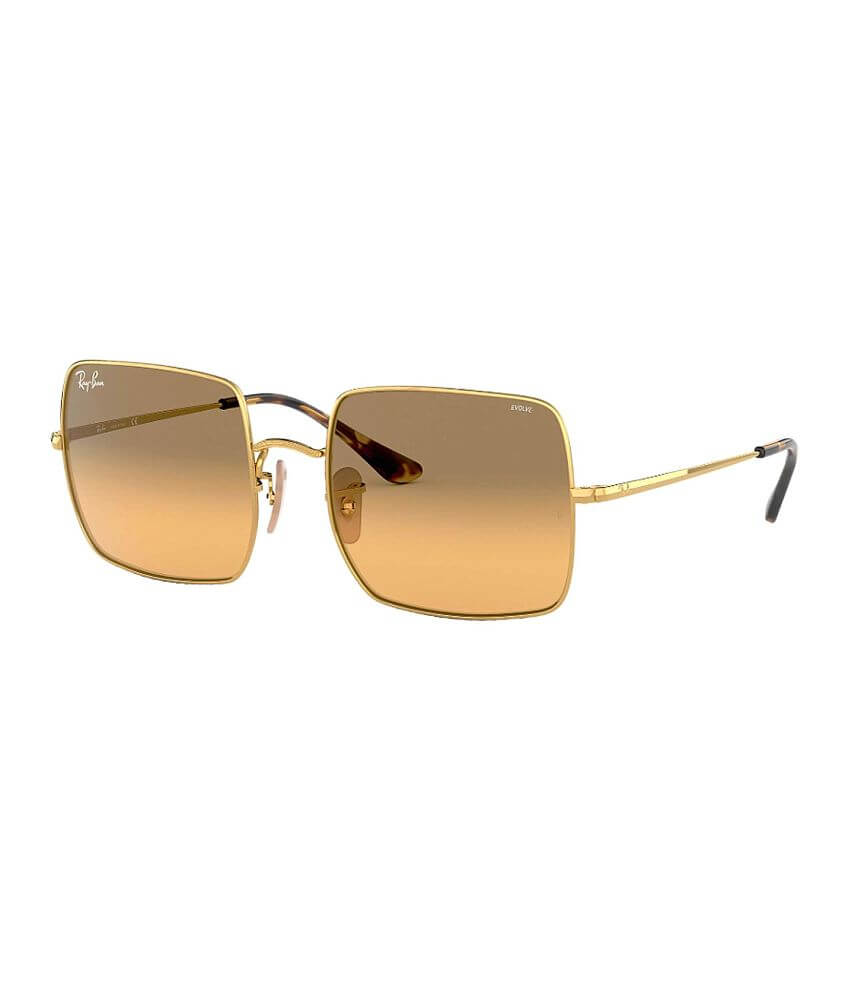 ee28ab6fd1c5 Ray-Ban® Square Evolve Sunglasses - Women's Accessories in Gold | Buckle