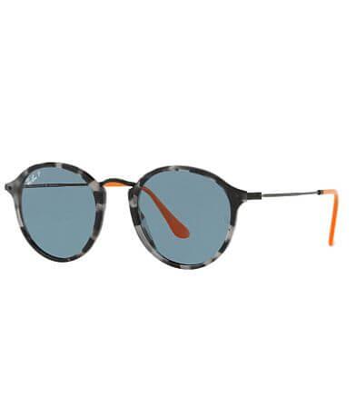 Ray-Ban® Polarized Round Sunglasses