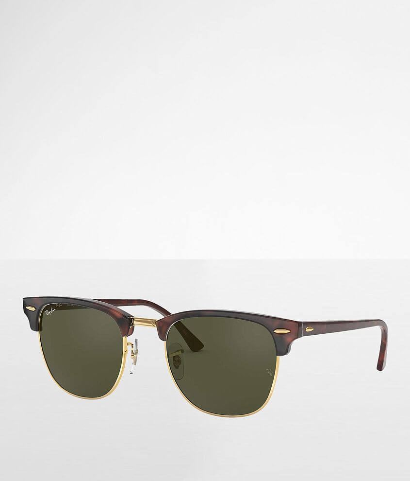 Acetate frame sunglasses Polarized Green Classic G-15 lenses 100% UV protection Soft shell case included