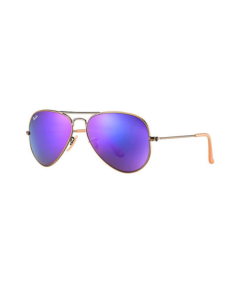 20fe46c5088 ... shopping ray ban aviator sunglasses womens accessories in bronze copper  violet mirr buckle e3e3c fc1ec