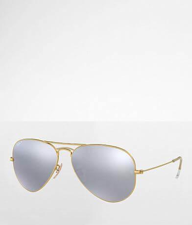 Ray-Ban® Polarized Aviator Sunglasses