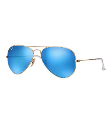 Ray-Ban® Mirrored Metal Sunglasses