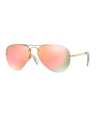 Ray-Ban® Rimless Aviator Sunglasses