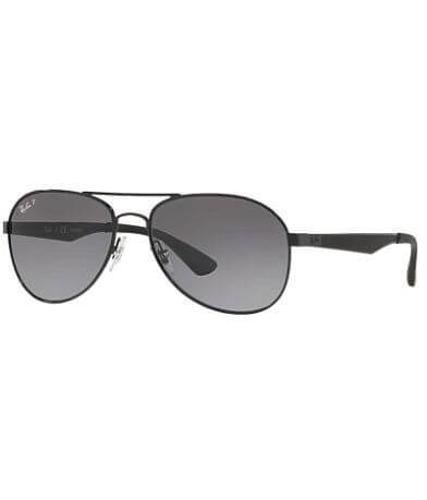 Ray-Ban® Polarized Aviator Sunglasses