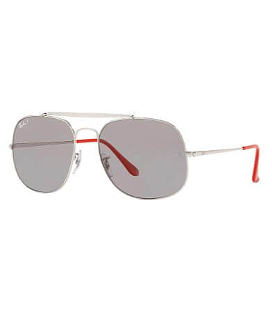 Ray-Ban® Polarized General Aviator Sunglasses