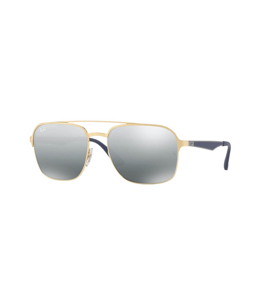 Ray-Ban® Squared Aviator Sunglasses - Women\'s Accessories in Gold ...