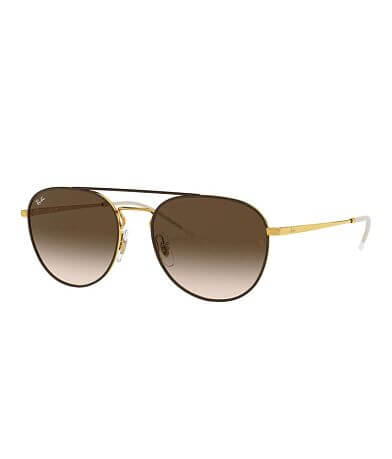 Ray-Ban® Double Bridge Aviator Sunglasses