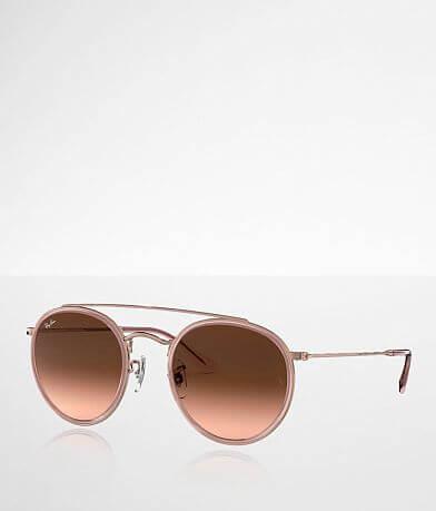 Ray-Ban® Round Double Bridge Sunglasses