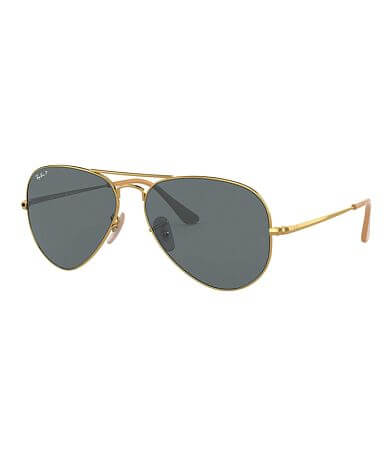Ray-Ban® Aviator Polarized Sunglasses