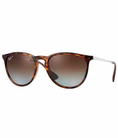 Ray-Ban® Round Erika Polarized Sunglasses
