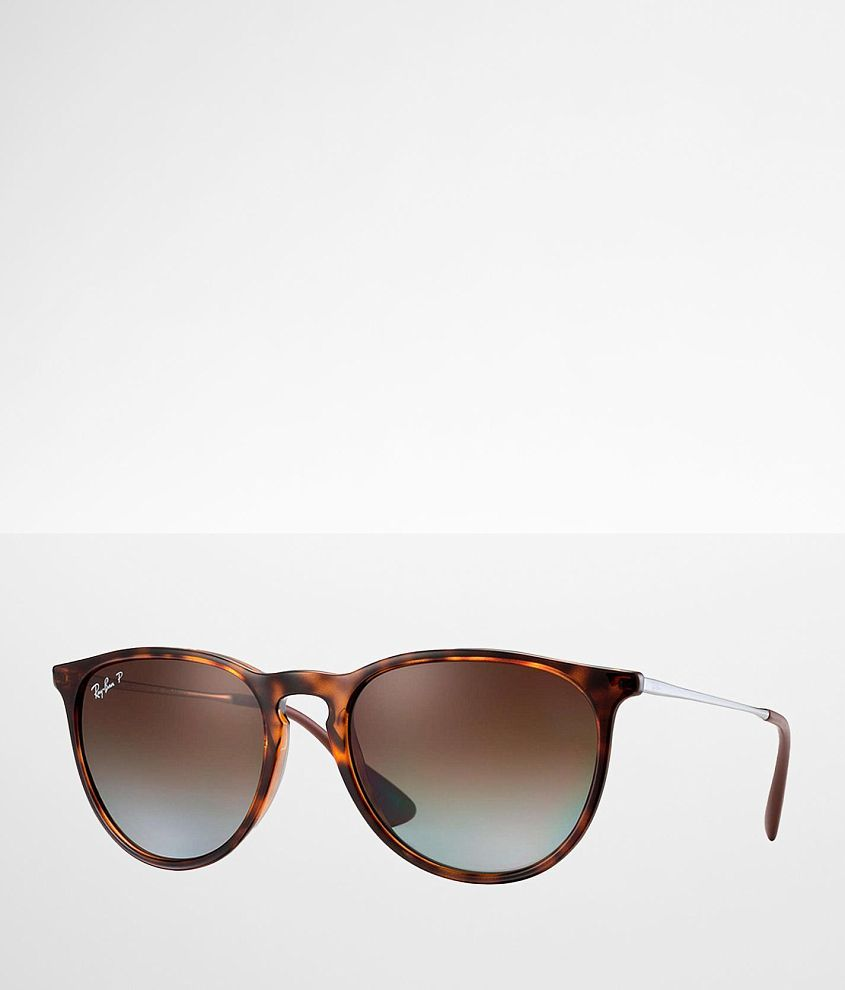 Ray-Ban® Round Erika Polarized Sunglasses front view
