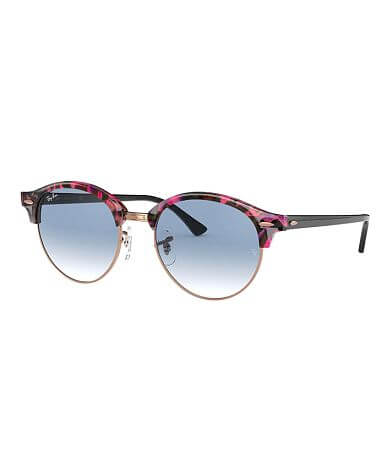 Ray-Ban® Clubround Fleck Sunglasses