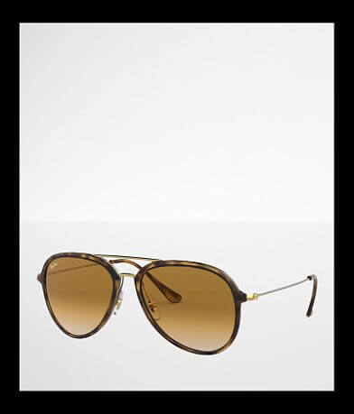 Ray-Ban® Tortoise Aviator Sunglasses