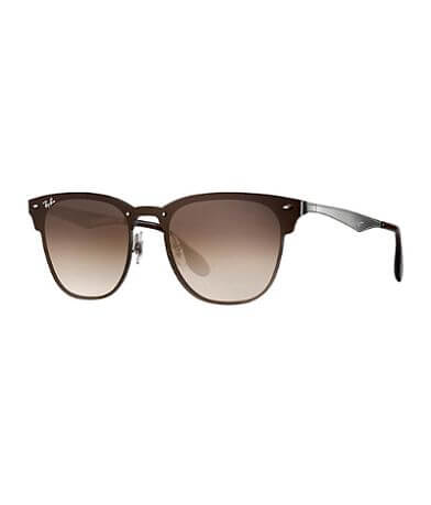 Ray-Ban® Flat Front Clubmaster Sunglasses