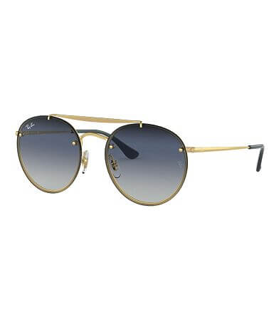 Ray-Ban® Blaze Round Polarized Sunglasses