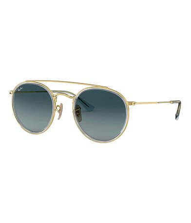 Ray-Ban® Round Double Bridge Sunglasses