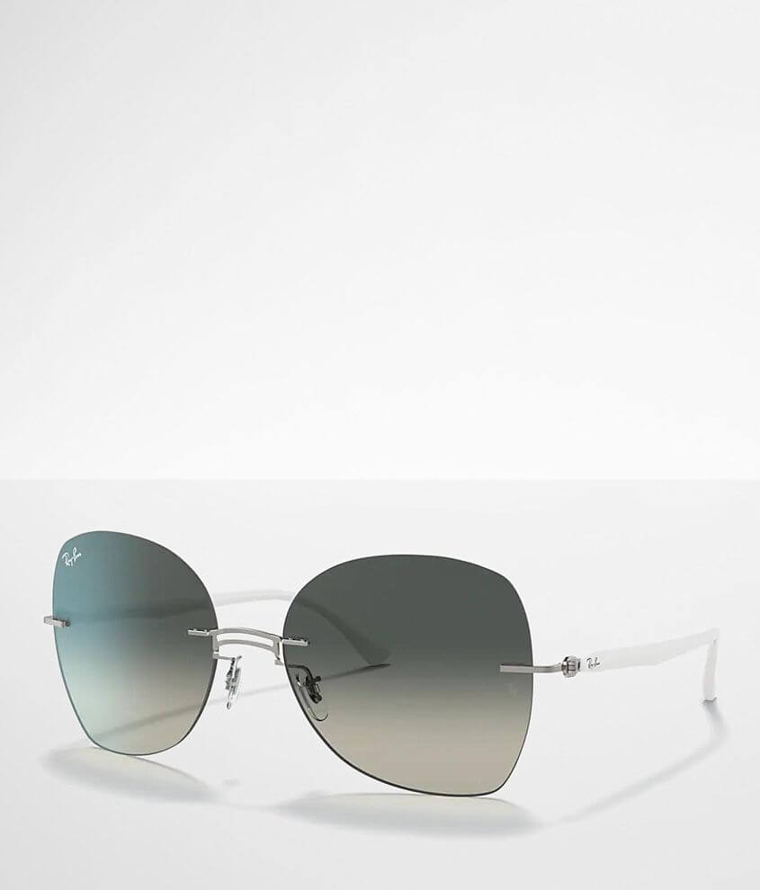 Ray-Ban® Rimless Titanium Sunglasses front view