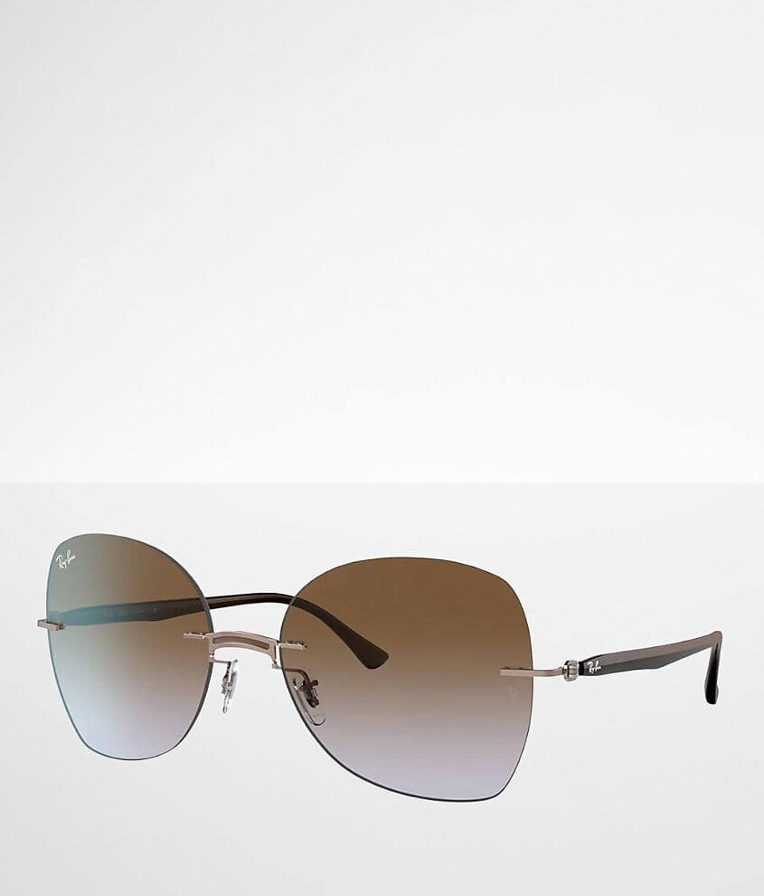 Ray-Ban® Rimless Sunglasses front view