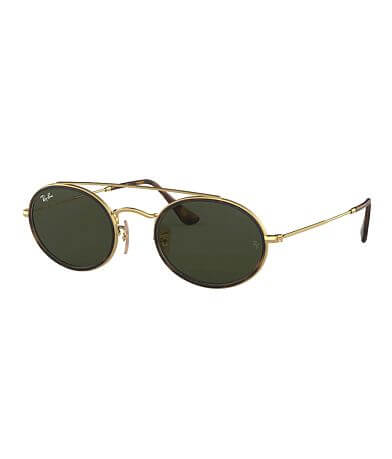 Ray-Ban® Double Bridge Oval Sunglasses