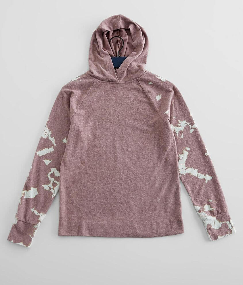 Girls - BKE Tie Dye Hooded Pullover front view