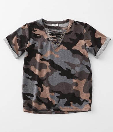 Girls - BKE Lace-Up T-Shirt