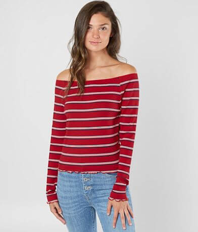 Violet Moon Striped Top