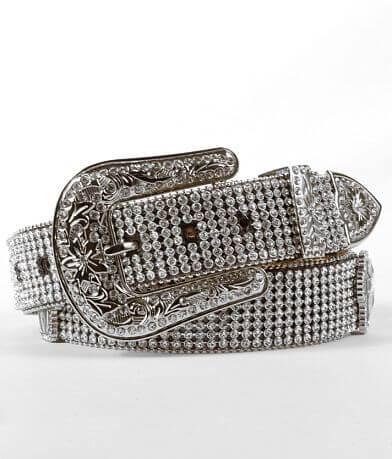 Nocona Leather Glitz Belt