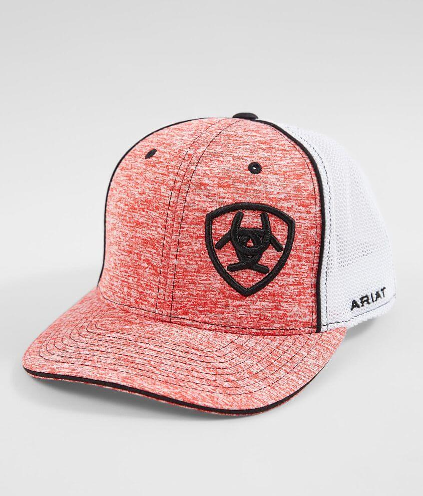 bac7c7ea66fe9 Ariat 110 Flexfit Tech Trucker Hat - Men s Hats in Red
