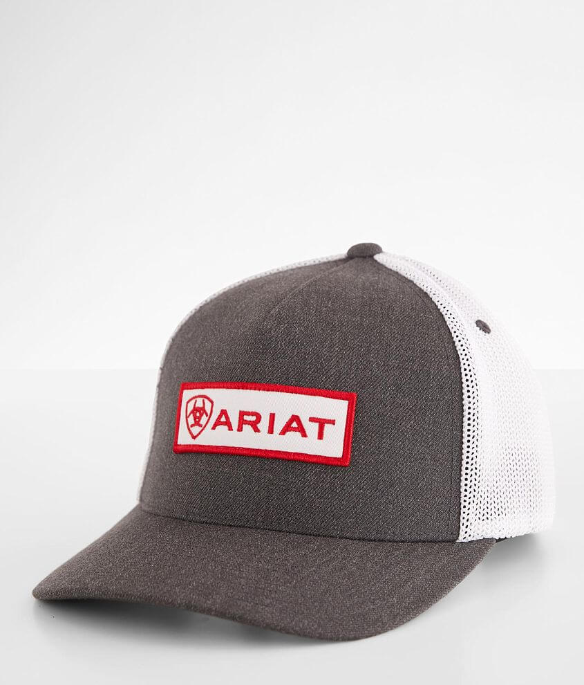 Ariat Blocked 110 Flexfit Trucker Hat front view