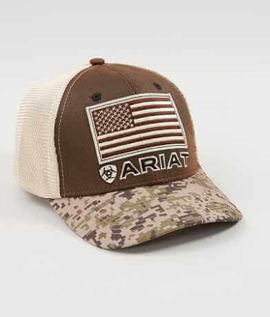 Ariat USA Flag Trucker Hat