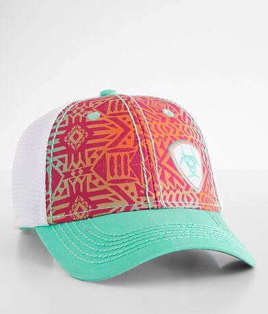 Ariat Southwestern Print Baseball Hat