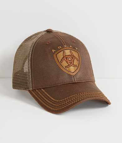 Ariat Oil Skin Trucker Hat