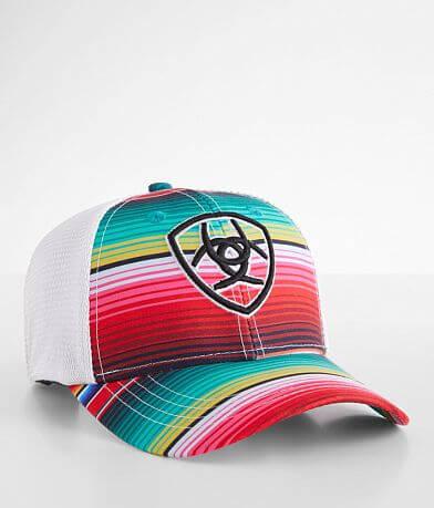 Ariat Striped Baseball Hat