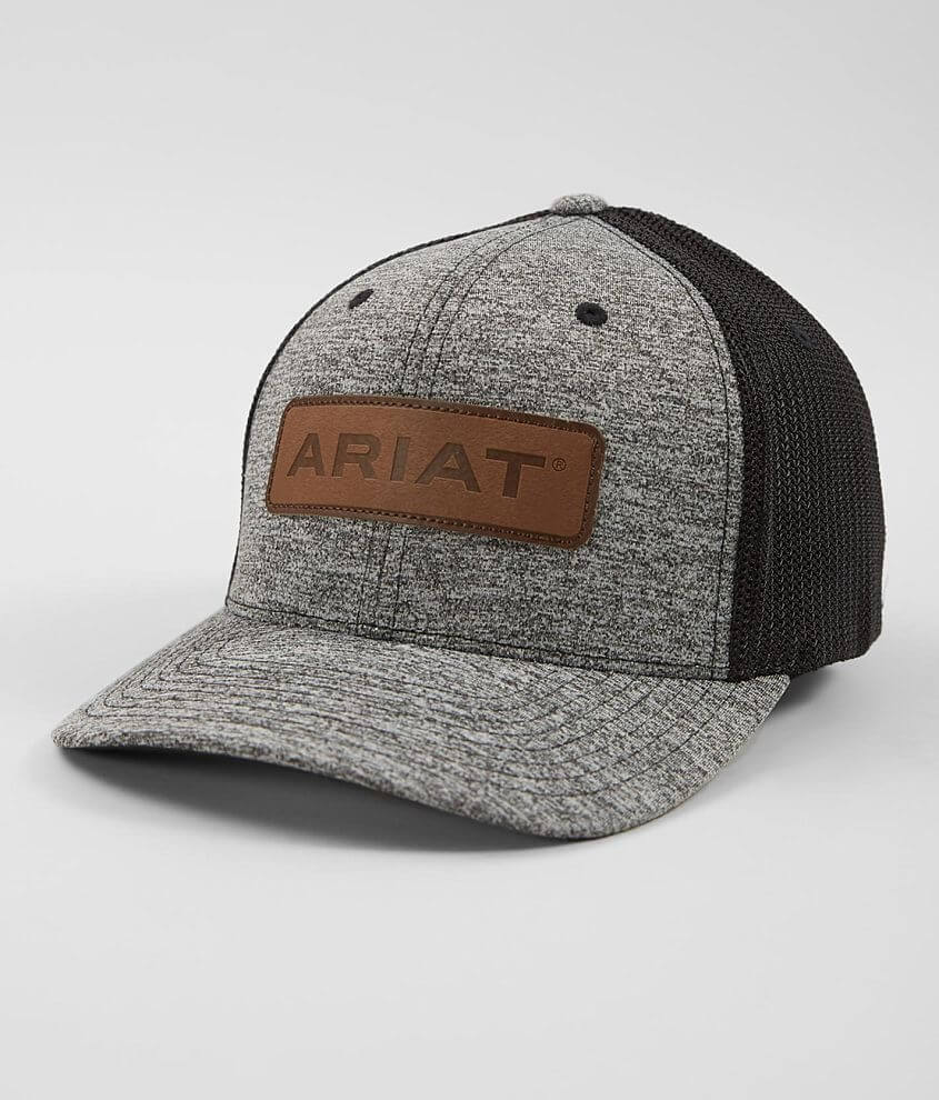 Embroidered logo patch flexfit hat