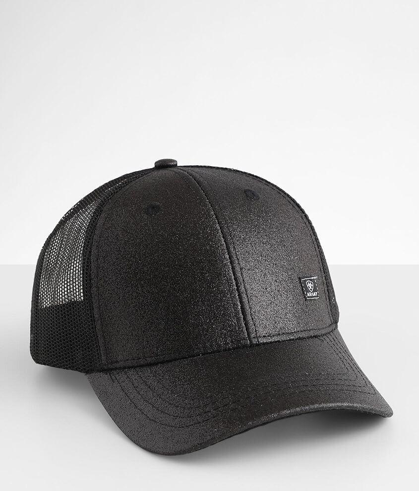 Ariat Glitter Ponytail Baseball Hat front view