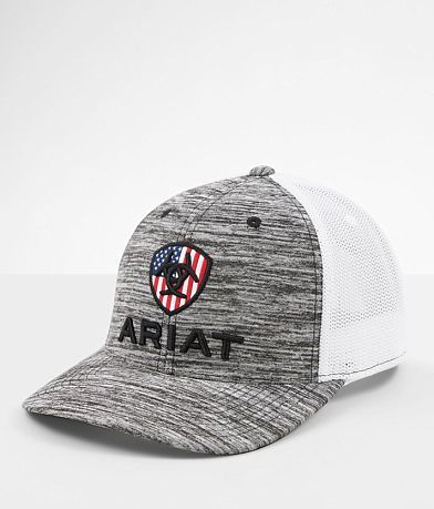 Ariat USA 110 Flexfit Tech Trucker Hat