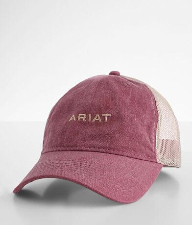 Ariat Washed Canvas Baseball Hat