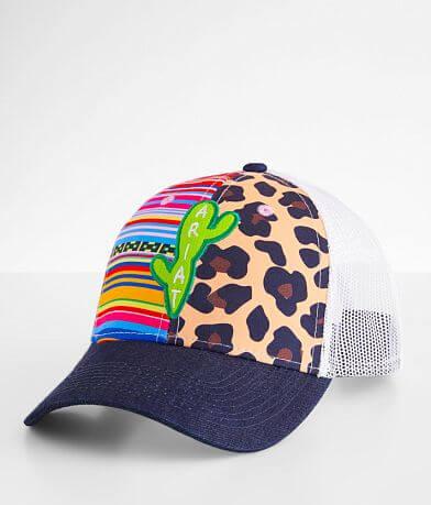 Ariat Cactus Pieced Baseball Hat