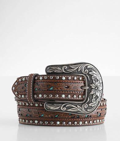 Ariat Embossed Leather Belt