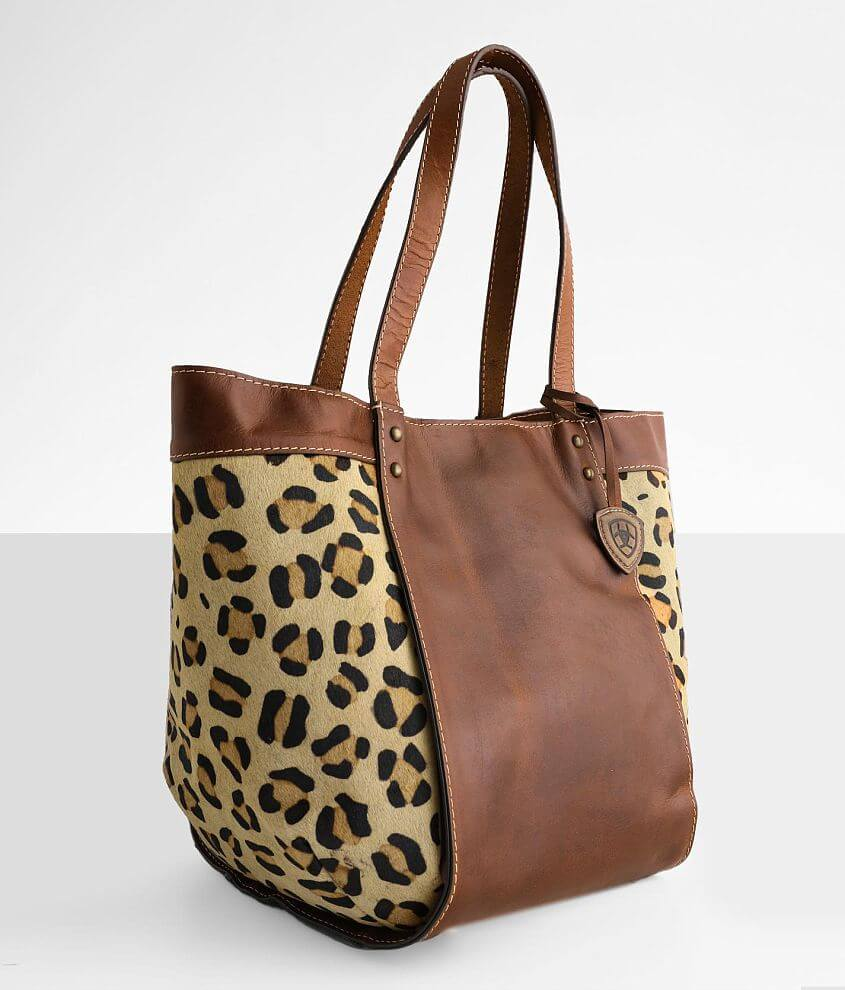 Ariat Bristol Structured Leather Tote front view