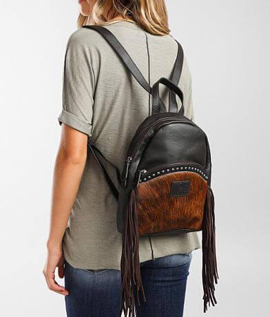 Ariat Scarlette Leather Fringe Backpack