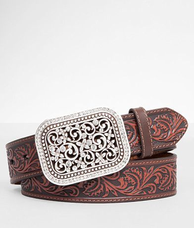 Ariat Embossed Leather Belt