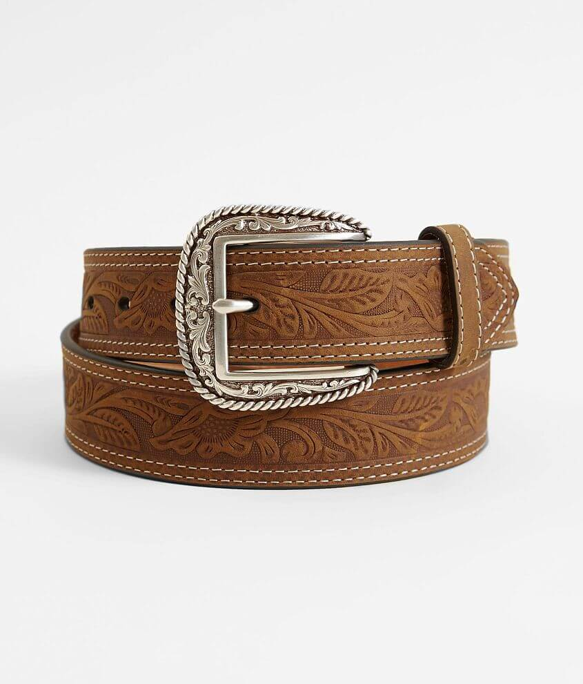 Ariat Leather Belt front view