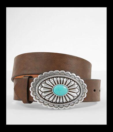 Ariat Turquoise Stone Basic Leather Belt