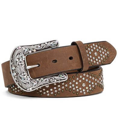 Ariat Studded Leather Glitz Belt