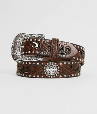 Ariat Leather Glitz Belt