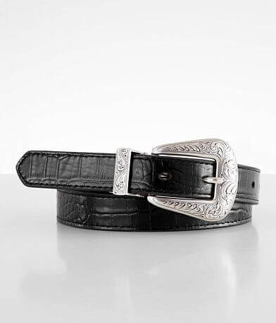 Ariat Reversible Embossed Leather Western Belt